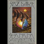 BG # 214-2 Steve Miller Band Fillmore Poster BG214