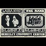 BG # 215 Laura Nyro Fillmore postcard - blank back BG215