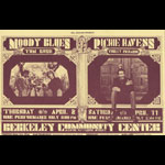 BG # 215A Moody Blues Fillmore postcard BG215A
