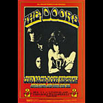 BG # 219 Doors Fillmore postcard - blank back BG219
