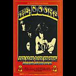 BG # 219 Doors Fillmore postcard BG219