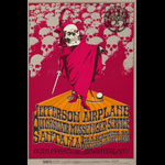BG # 222 Benefit Concert For The Grateful Dead Fillmore postcard - blank back BG222