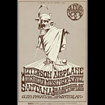BG # 222 Jefferson Airplane Fillmore postcard BG222