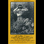 BG # 231 Jethro Tull Fillmore postcard BG231