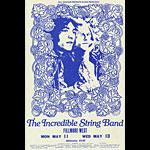 BG # 232A Incredible String Band Fillmore Monday - Wednesday Ticket BG232A