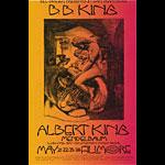 BG # 235-1 B.B. King Fillmore Poster BG235