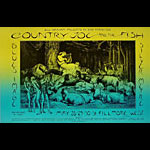 BG # 236 Country Joe and the Fish Fillmore postcard BG236