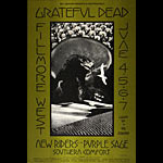 BG # 237 Grateful Dead Fillmore postcard BG237