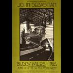 BG # 238-1 John Sebastian Fillmore Poster BG238
