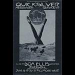 BG # 239 Quicksilver Messenger Service Fillmore postcard - ad back BG239