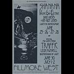 BG # 240 Sha Na Na Fillmore postcard BG240