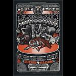 BG # 248 Santana Fillmore postcard - ad back BG248