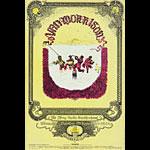 BG # 251 Van Morrison Fillmore postcard - ad back BG251