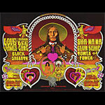 BG # 257 258-1 Love w/Arthur Lee Fillmore Poster BG257 258