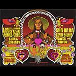BG # 257 258-1 Love w/Arthur Lee Fillmore Poster BG257 258