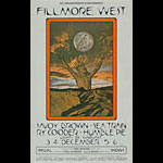 BG # 259-1 Savoy Brown Fillmore Poster BG259