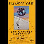 BG # 260 Lee Michaels Fillmore postcard - ad back BG260