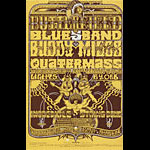 BG # 261 Butterfield Blues Band Fillmore postcard - ad back BG261