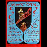 BG # 263-1 Cold Blood Fillmore Poster BG263