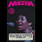 BG # 272 Aretha Franklin Fillmore postcard - ad back BG272