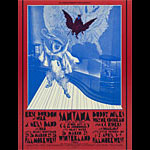 BG # 275-1 Eric Burdon and War Fillmore Poster BG275
