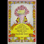 BG # 283 Albert King Fillmore postcard BG283