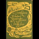 BG # 0-1 The Grass Roots Fillmore Poster BG0