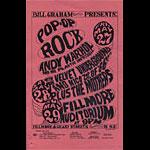BG # 8 Andy Warhol Fillmore Handbill BG8