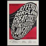 BG # 10-1 Jefferson Airplane Fillmore Poster BG10