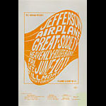 BG # 10 Jefferson Airplane Fillmore Handbill BG10