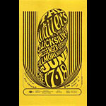 BG # 11 Wailers Fillmore Handbill BG11