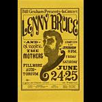 BG # 13 Lenny Bruce Fillmore Handbill BG13