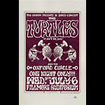 BG # 15 Turtles Fillmore Handbill BG15