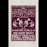 BG # 15 Turtles Fillmore Handbill BG15