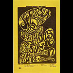 BG # 17 Jefferson Airplane Fillmore Handbill BG17