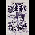 BG # 19 The Beard Fillmore Handbill BG19