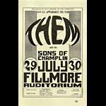 BG # 20 Them Fillmore Handbill BG20