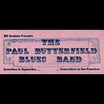 BG # 29H Butterfield Blues Band Fillmore Handbill BG29H