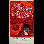BG # 70 Chuck Berry Fillmore Saturday ticket BG70