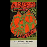 BG # 71 Bo Diddley Fillmore Saturday ticket BG71