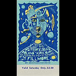 BG # 72 Butterfield Blues Band Fillmore Saturday ticket BG72