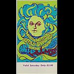 BG # 76 Muddy Waters Fillmore Saturday ticket BG76