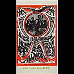 BG # 77 Electric Flag Fillmore Friday ticket BG77