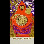 BG # 79 Paul Butterfield Blues Band Fillmore Saturday ticket BG79