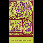 BG # 88 Jefferson Airplane Fillmore Thursday ticket BG88
