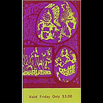 BG # 88 Jefferson Airplane Fillmore Friday ticket BG88