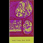 BG # 88 Jefferson Airplane Fillmore Friday ticket BG88