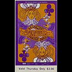BG # 94 Donovan Fillmore Thursday ticket BG94