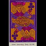 BG # 94 Donovan Fillmore Saturday ticket BG94