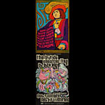 BG # 95/96 Blue Cheer Fillmore double postcard BG95/96